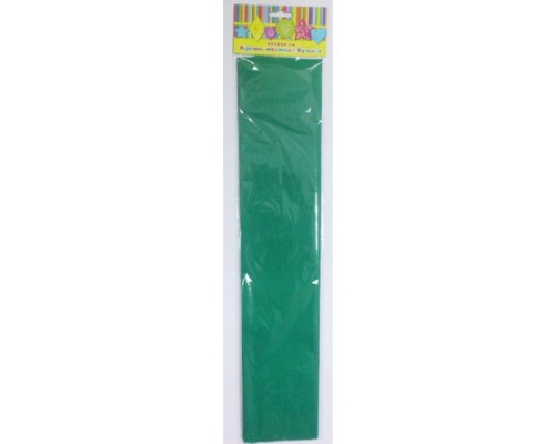 Бумага крепированная 28589 зеленая