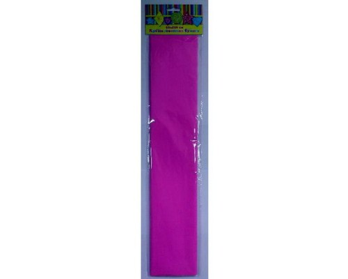 Бумага крепированная 28581 розовая