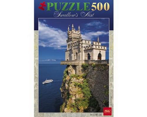 ПАЗЛ 500 элементов Романтический замок