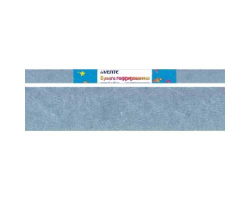 Бумага крепированная deVENTE 22 г/м, 50x250см. голубая перламутровая