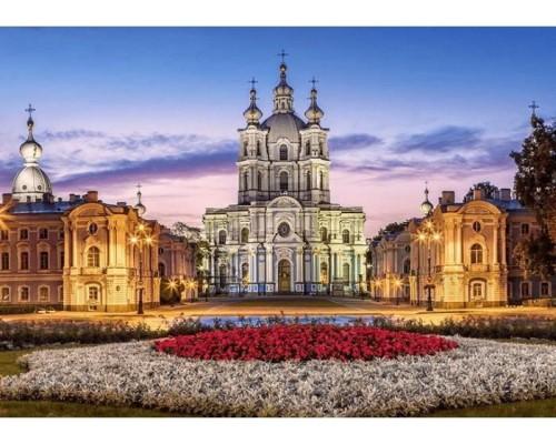 ПАЗЛ 500 элементов Castor Смольный собор в Санкт-Петербурге B-53209