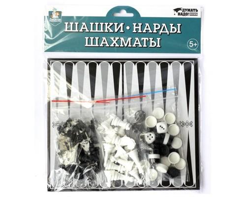 Шашки-Нарды-Шахматы европодвес 04026