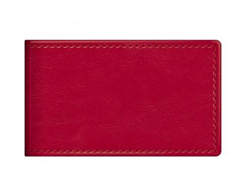 Визитница 12 карманов SARIF Красный